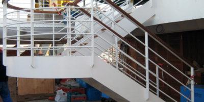 costruzione scala nuova 1