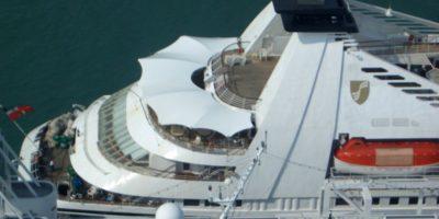 fornitura e sostituzione vetrate murata poppa nave