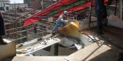 A - smantellamento vecchia scala