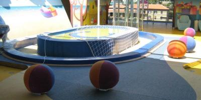 realizzazione e montaggio aerea gioco bambini