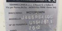 motopompa 2012 con motore JCB e pompa SM serie 100-125